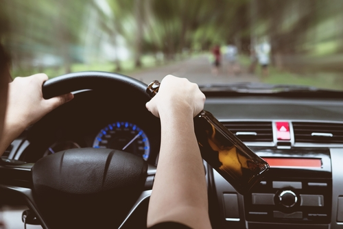 What can I do if I crashed while Drunk Driving?